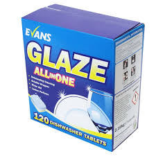 Evans Glaze Dishwasher Tablets
