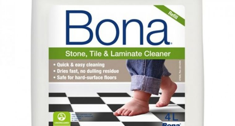 Bona Stone, Tile & Laminate Cleaner Refill 4L