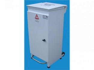 Front Access Bin Large White