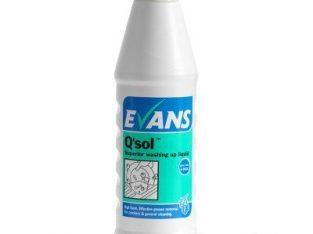 Q`Sol Washing Up Liquid 1l