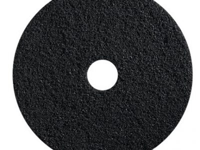 17″ Black Floor Pads