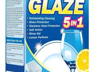 Glaze Dishwasher Tablets 8x100PK