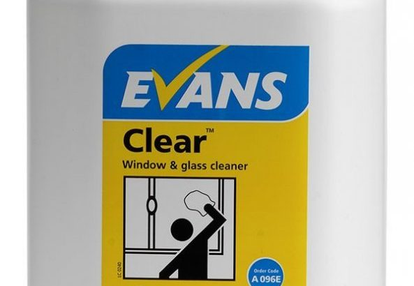 Evans Clear – Window & Glass Cleaner 5L