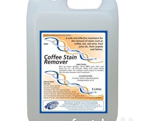 Craftex Coffee Stain Remover