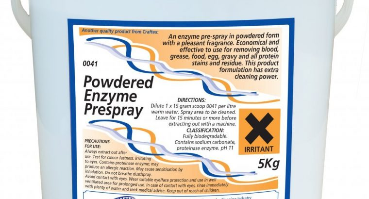 Craftex Powdered Enzyme Prespray 5Kg