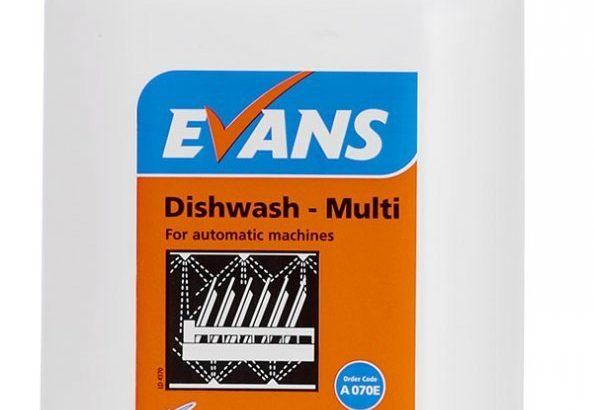 Evans Dishwash Multi 5L