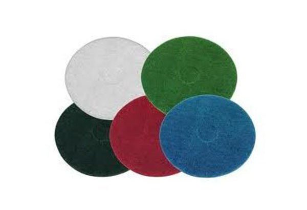 17″  Floor Pads – Black , Green , White , Blue , Red
