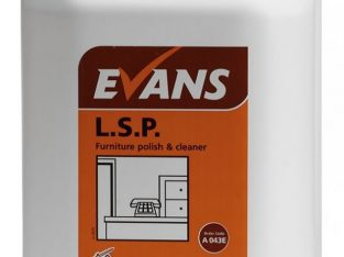 Evans L.S.P Furniture Polish 5L