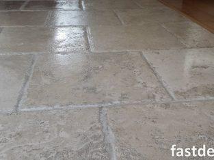 Travertine Floor Cleaning