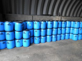 10 x 50lt plastic barrels ideal for pheasant feeders water butts animal feed etc