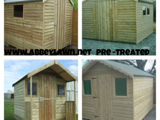 Garden Sheds For Sale 8×6 From  300 Euro