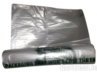 Clear Degradable Compactor Refuse Bag