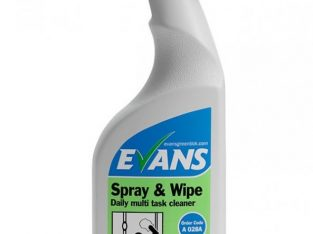 Evans Spray & Wipe 750Ml