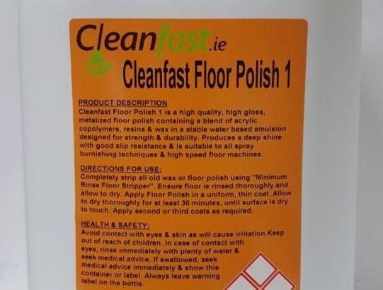 Cleanfast Floor Polish 1