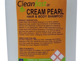 Cleanfast Cream Pearl Hair & Body Shampoo