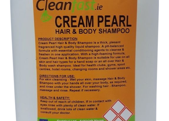 Cleanfast Cream Pearl Hair and Body Shampoo