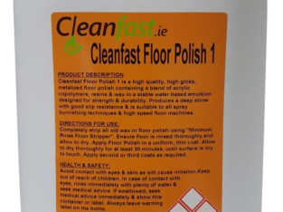 Cleanfast Floor Polish 25%