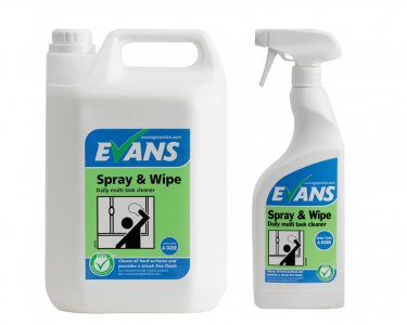 Evans Spray & Wipe Hard Surface Cleaner