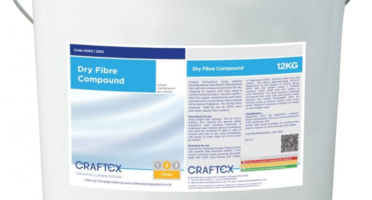 Quality Cleaning With The Craftex Dry Fibre Compound