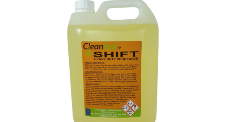 Cleanfast Shift Degreaser Data Sheet MSDS