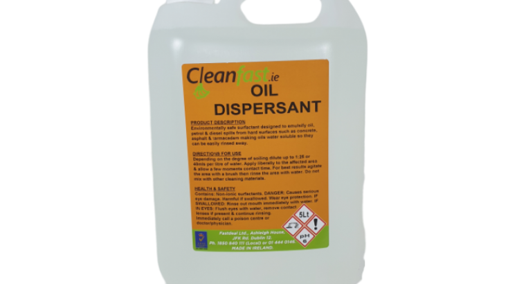 Cleanfast Oil Dispersant Data Sheet MSDS