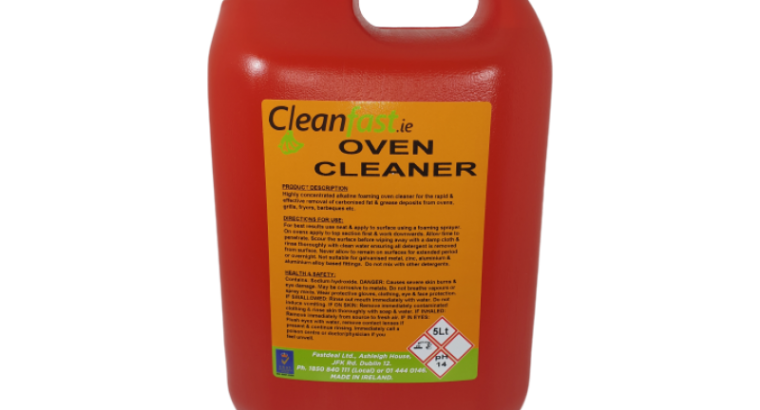Cleanfast Oven Cleaner Data Sheet