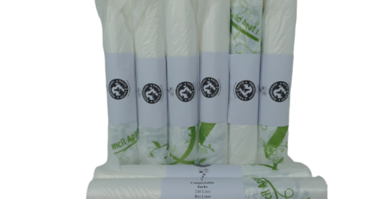 Earth2Earth 240L Compostable Bin Liners