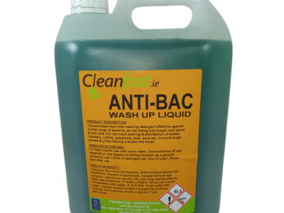 Cleanfast Anti-Bac Washing Up Liquid Data Sheet MSDS