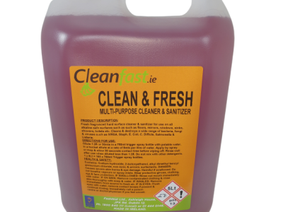 Cleanfast Clean & Fresh Hard Surface Cleaner MSDS