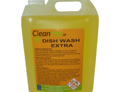 Cleanfast Dish Wash Extra Data Sheet MSDS