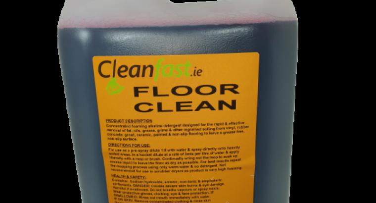 Cleanfast Floor Cleaner MSDS Data Sheet
