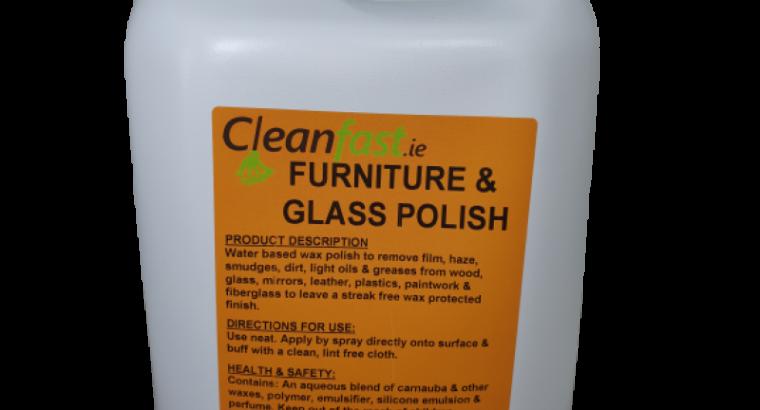 Cleanfast Glass & Furniture Polish Data Sheet MSDS