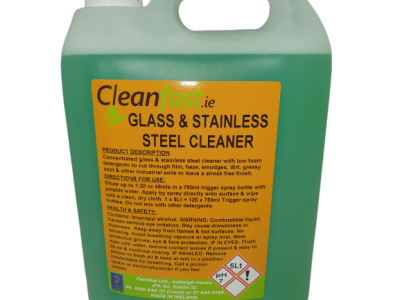 Cleanfast Glass & Stainless Steel Cleaner Data Sheet MSDS