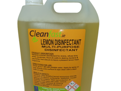 Cleanfast Lemon Disinfectant Data Sheet MSDS