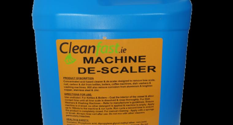 Cleanfast Machine De-Scaler Data Sheet MSDS