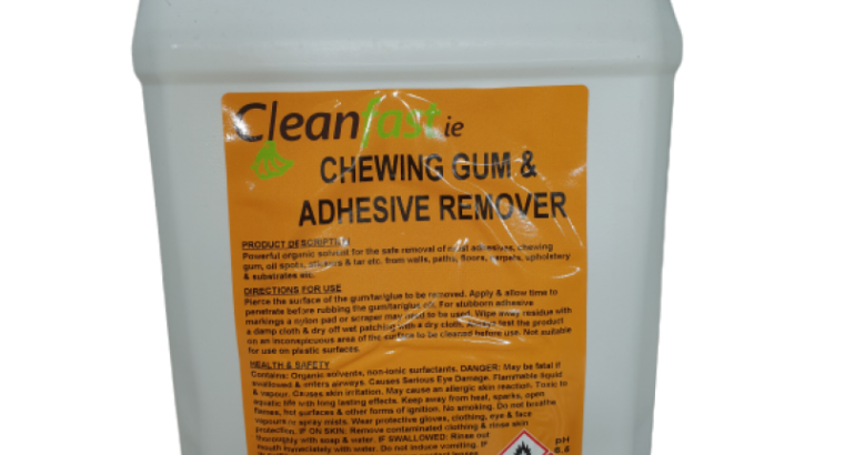 Cleanfast Chewing Gum & Adhesive Remover MSDS