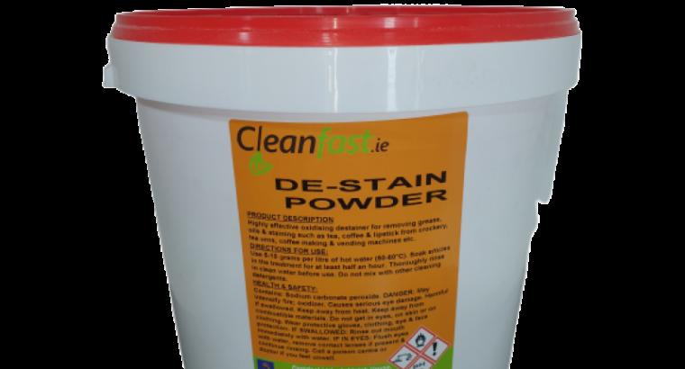 Cleanfast De-Stain Powder 10 KG Data Sheet MSDS