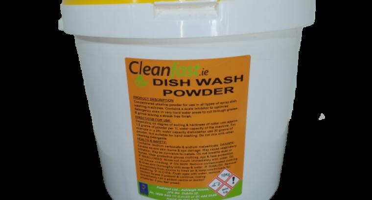 Cleanfast Dish Wash Powder 10 KG Data Sheet MSDS