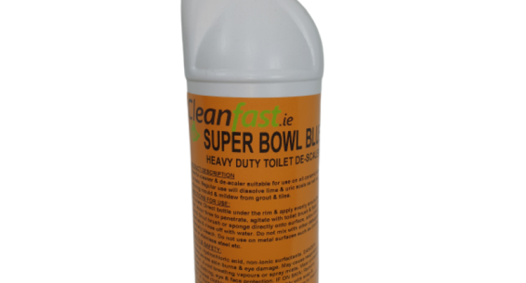 Cleanfast Super Bowl Blue Heavy Duty Toilet Cleaner MSDS