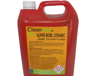 Cleanfast Super Bowl Bathroom Cleaner & Descaler MSDS