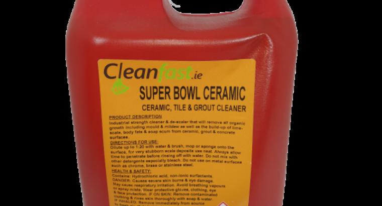 Cleanfast Super Bowl Bathroom Cleaner & Descaler MSDS