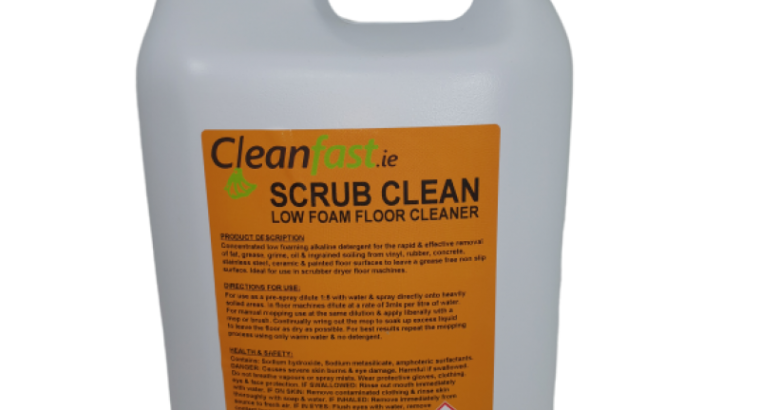 Cleanfast Scrub Clean Data Sheet MSDS