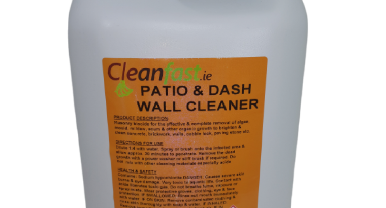 Cleanfast Patio & Dash Wall Cleaner Data Sheet MSDS