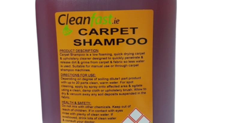 Cleanfast Carpet & Upholstery Cleaning Shampoo MSDS