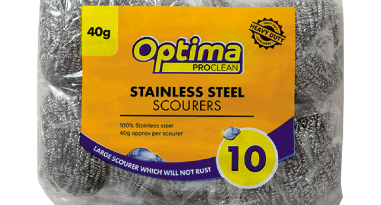Review Of The 40g Optima Proclean Stainless Steel Scourers