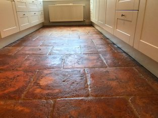 Terracotta Floor Cleaning & Polishing