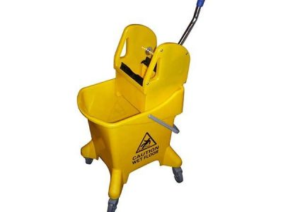 25L Mopping System With Gear Press Wringer For Fast Mopping