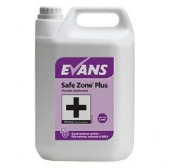 Evans Safe Zone Plus Antibacterial Virucidal Cleaner RTU