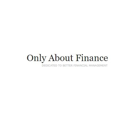 Only About Finance