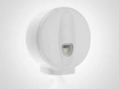 Bring Order To Your Washrooms With The Dolphin Excel Plastic Mini Jumbo Dispenser